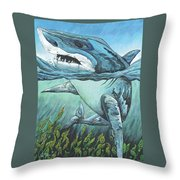 Cleansing Threat Throw Pillow
