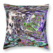 Clear As Mud 1 Throw Pillow