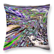 Clear As Mud 2 Throw Pillow