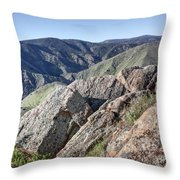Clear Creek Canyon Throw Pillow