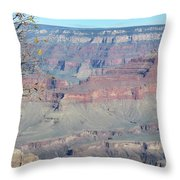 Clear Day At The South Rim Throw Pillow