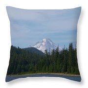 Clear Lake Throw Pillow