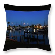 Clear Lake Shores,tx Throw Pillow