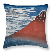 Clear Morning Throw Pillow