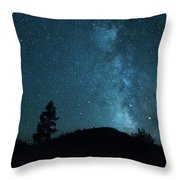 Clear Night Skies Throw Pillow