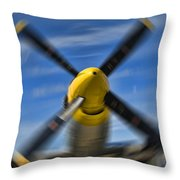 Clear Prop Throw Pillow by Steven Richardson