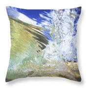 Clear Water Throw Pillow by Vince Cavataio - Printscapes