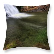 Clear Waters Throw Pillow