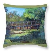 Clearfork Bridge Throw Pillow