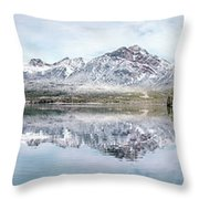 Clearlight Symphony Throw Pillow