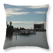 Clearwater 2 Throw Pillow