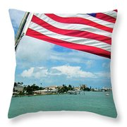 Clearwaters Throw Pillow