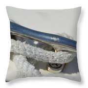Cleat 2 Throw Pillow
