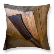 Cleaver Ready For Action Throw Pillow