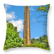 Cleopatra's Needle In Central Park Throw Pillow
