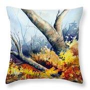 Cletus' Tree Throw Pillow