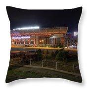 First Energy Stadium Throw Pillow