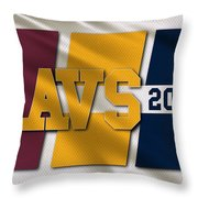 Cleveland Cavaliers Flag Throw Pillow