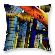 Cleveland Industry  Throw Pillow