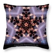 Cleveland Kaleidoscope IIi Throw Pillow
