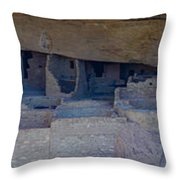Cliff Dwellers Panoramic Throw Pillow