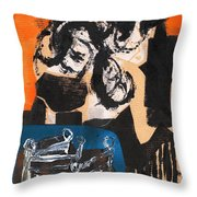 Cliff Master Bed 3 Throw Pillow