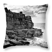 Cliff Throw Pillow