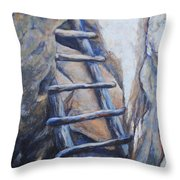 Cliff Palace Ladder Throw Pillow