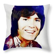 Cliff Richard, Music Legend Throw Pillow