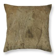 Cliff Trees Throw Pillow