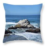 Cliffhouse Rocks Throw Pillow