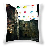Clifford's Tower Throw Pillow