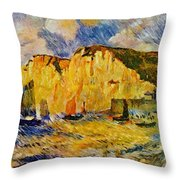 Cliffs 1883 Throw Pillow