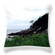 Cliffside II Throw Pillow