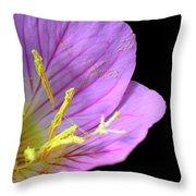 Climactic Evening Primrose Throw Pillow