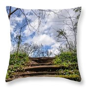Climb To The Clouds Throw Pillow