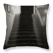 Climbing Toward The Unknown Throw Pillow