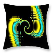 Clinched Throw Pillow
