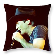 Clint Black-0840 Throw Pillow