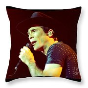 Clint Black-0842 Throw Pillow