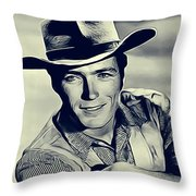 Clint Eastwood, Actor/director Throw Pillow