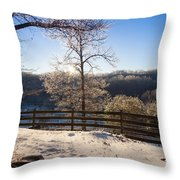 Clinton Tennessee Throw Pillow