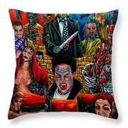 Clive Barker's Nightbreed Throw Pillow