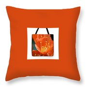 Clivia Tote Bag Throw Pillow
