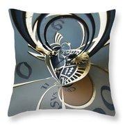 Clockface 11 Throw Pillow