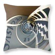 Clockface 6 Throw Pillow