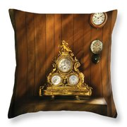 Clockmaker - Clocks Throw Pillow