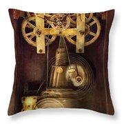 Clockmaker - The Mechanism  Throw Pillow