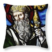 Clogheen, Ireland St. Patrick On Throw Pillow