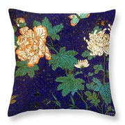 Cloisonee' Dragonfly Throw Pillow